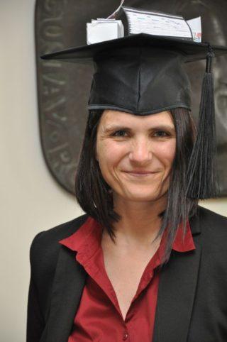 Karin Dressler mit Hut